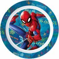Piatto di Plastica Spider-Man (22 cm)