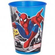 Bicchiere di plastica Spider-Man (26 cl)
