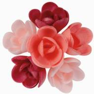 6 Mini Rose Rosa (3 cm) Azzimo - Sapore Frutti Rossi