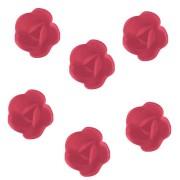 6 Rose Mini (3 cm) Azzimo - Sapore Fragola
