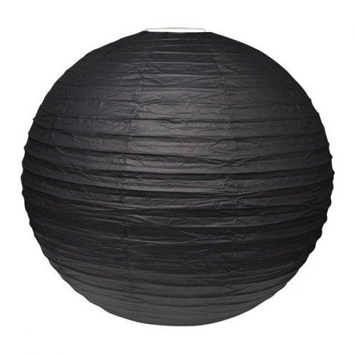 Sfera lampione gigante nero