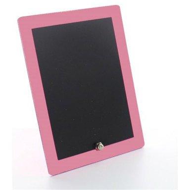 Mini lavagna bordo rosa confetto