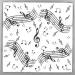 20 Tovaglioli Musica. n°1