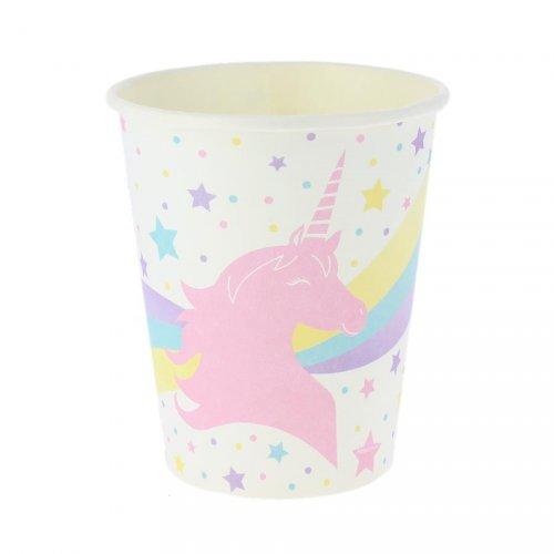 8 Bicchieri Meraviglioso Unicorno