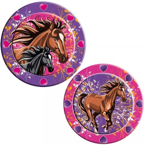 8 Piatti Cavallo Indomito