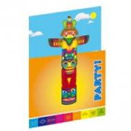 8 Inviti Totem indiano Rainbow