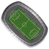 Contiene : 1 x 8 Piatti Stadio di Calcio