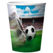 4 Bicchieri 3D Stadio di Calcio in Melammina