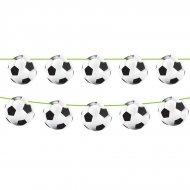 Ghirlanda bandierine palloni stadio calcio