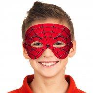 Maschera in gommapiuma Spiderman
