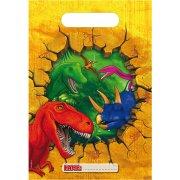 6 Sacchetti regalo Dinosauro