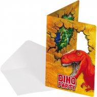 6 Inviti Dinosauro