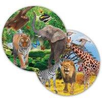 Contiene : 1 x 8 Piatti Safari Party
