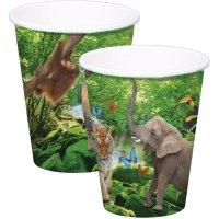 Contiene : 1 x 8 Bicchieri Safari Party