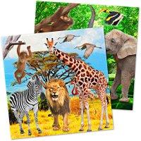 Contiene : 1 x 20 Tovaglioli Safari Party