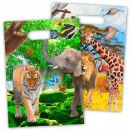 8 Sacchetti regalo Safari Party
