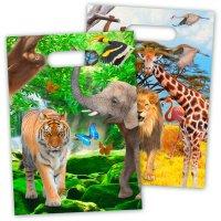Contiene : 1 x 8 Sacchetti regalo Safari Party