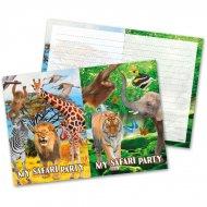8 Inviti Safari Party