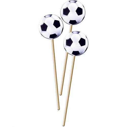 8 stuzzicadenti maxi Palloni da calcio (22 cm)