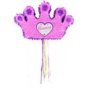Pull Pinata Corona da Principessa Rosa/Viola (49 cm)