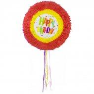 Pull Pinata Happy Birthday Stelle (48 cm) Dispiegabile
