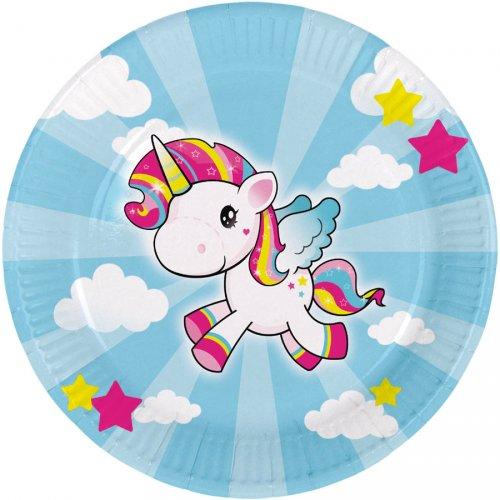 8 Piatti Unicorno Kawaïï