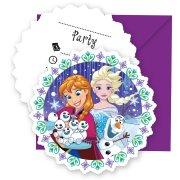 6 Inviti Il Regno di Ghiaccio Frozen