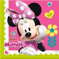 20 Tovaglioli Minnie Happy e Paperina