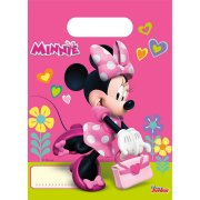 6 Sacchetti regalo Happy Minnie