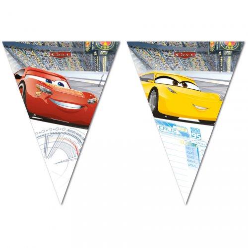 Ghirlanda bandierine Cars 3 (2,30 m) - Plastica