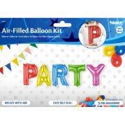 5 Palloncini Lettere PARTY (36 cm)