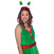 Cerchietto Antenne Alberi di Natale (bambino/adulto)