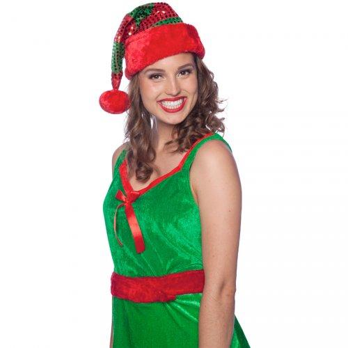 Cappello Elfo di Natale (bambino/adulto)