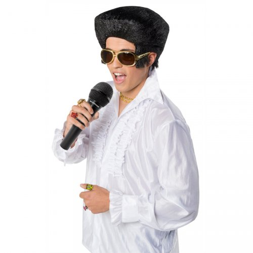 Parrucca Elvis Rock (bambino/adulto)