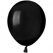 50 palloncini neri opachi Ø13cm