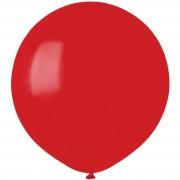 10 palloncini rosso scuro opachi Ø48cm