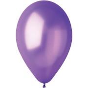 10 palloncini viola madreperla Ø30cm