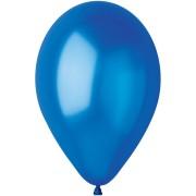 10 palloncini blu reale madreperla Ø30cm