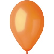 10 palloncini arancioni madreperla Ø30cm
