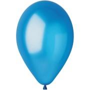 10 palloncini blu madreperla Ø30cm