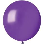 10 palloncini viola madreperla Ø48cm