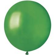 10 palloncini verdi madreperla Ø48cm