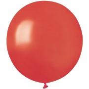 10 palloncini rossi madreperla Ø48cm