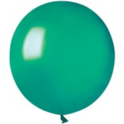 10 palloncini verde abete madreperla Ø48cm