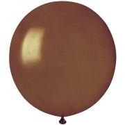 10 palloncini marroni madreperla Ø48cm