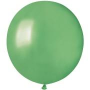 10 palloncini verde menta madreperla Ø48cm