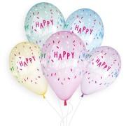 5 palloncini Buon compleanno Ø33cm