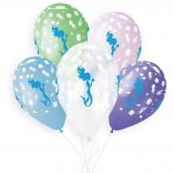5 palloncini Sirena Ø33cm