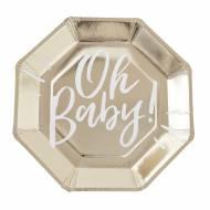8 Piatti Gold - Oh Baby!