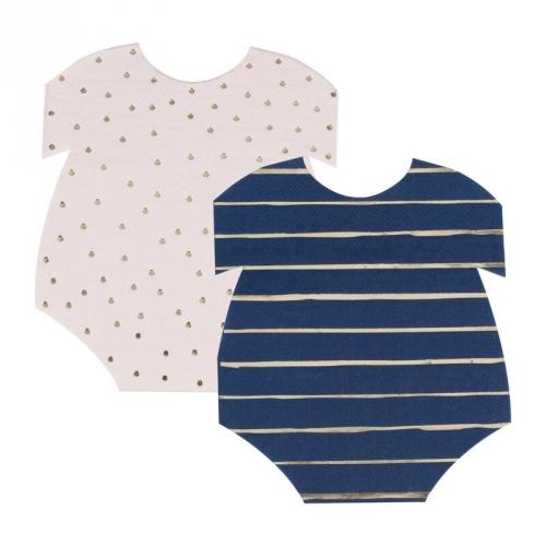 16 Tovaglioli Baby Shower - It s a Boy It s a Girl?
